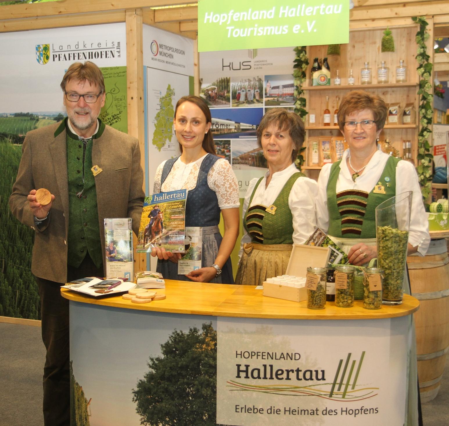 Hallertau Tourismus e.V. wirbt für Erholung und Genuss im Hopfenland