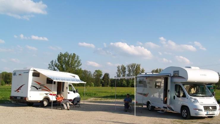 Wohnmobilstellplatz in Hohenwart