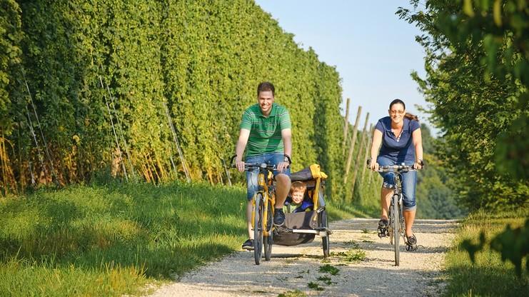 Radfahren in der Hallertau